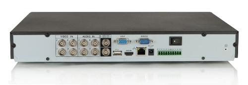LC-DVR0401M / BCS-DVR0401M - Rejestratory 4-kanałowe