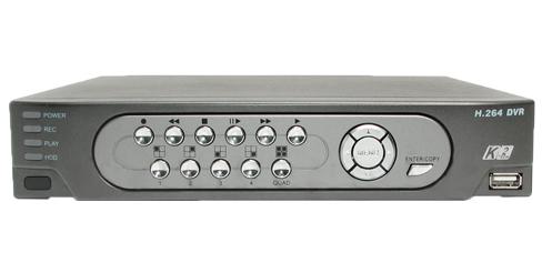 K2-204-H - Rejestratory 4-kanałowe