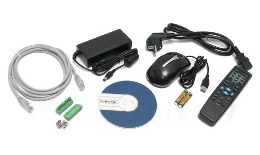 LC-0404LE-A / BCS-0404LE-A - Rejestratory 4-kanałowe