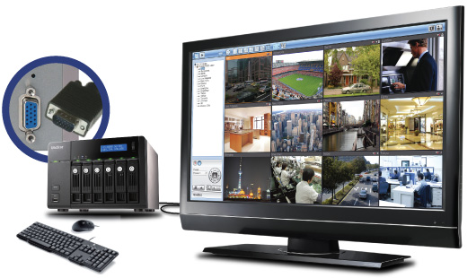 QNAP VS-6020Pro - Rejestratory sieciowe ip